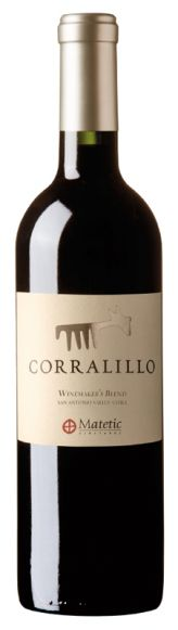 Corralillo Winemaker's Blend, San Antonio Valley, Matetic 75cl