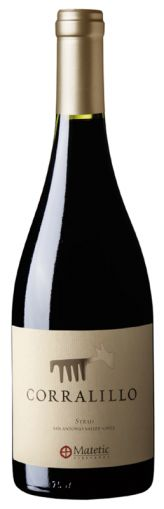 Corralillo Syrah, San Antonio Valley, Matetic 75cl