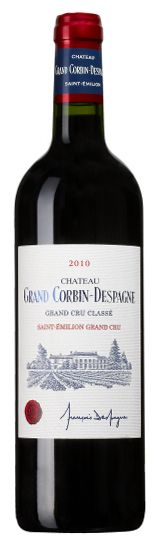 Chateau Grand Corbin Despagne, Grand Cru Classe, Saint Emilion AC 75cl