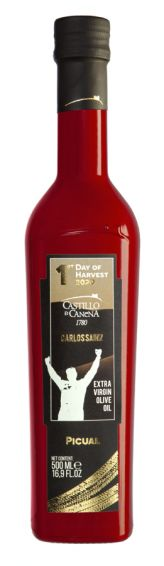 First Day of Harvest Picual by Carlos Sainz 2020, Extra Vergin Olive Oil 50cl