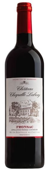 Chateau Chapelle Labory, Fronsac 75cl
