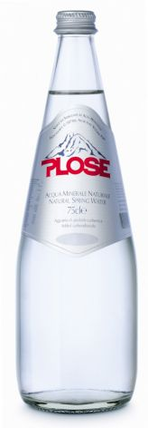 Plose Luxury Edition, Sparkling Natural Mineral Water 750ml